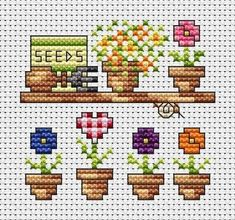 Image result for free camping cross stitch patterns