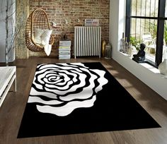 black rose area rugs