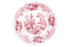 S/4 Cambridge Salad Plates - From The Home Decor Discovery Community at www.DecoandBloom.com