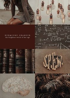 Hermione Granger collage harry potter ⋆ to whatever end ⋆ Hermione, Hogwarts, E Mc2, Harry Potter Aesthetic, Harry Potter Characters, Aesthetic Collage, New Wall, Pretty Little Liars, Book Worms