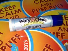With chilly fall weather coming...you need Mary Jane's Medicinal Lip Bong.... Medicated Chapstick that will keep your lips looking hydrated and beautiful while leaving the rest of your body feeling great as well  $6