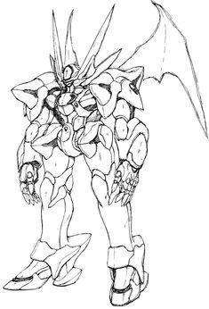 El Fenrir Rough Sketch