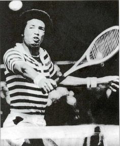 Arthur Ashe-The tennis champ was initiated into the Upsilon chapter of Kappa Alpha Psi fraternity at University of California, Los Angeles. Description from pinterest.com. I searched for this on bing.com/images