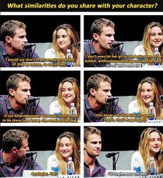 Omg, lol, four is awsome but I like the real theo better...❤️