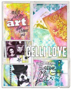 """Atelier Version Scrap Paris 2014... zoom sur l'atelier """"Gelli Plate"""""""