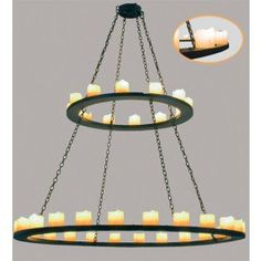 Loxley 36 Light Two Tier Chandelier MT-29222