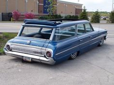 63 or64 Galaxie Wagon all the way