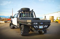 black aluminum truck beds - Google Search