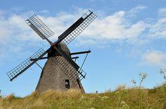 windmill, Skagen, Denmark