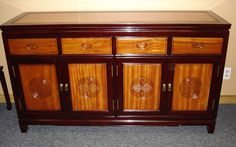 You can order a matching Buffet or China Hutch or any other 2 tone Rosewood furniture to go with it. Description from rosewoodfurniture.com. I searched for this on bing.com/images