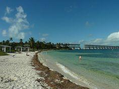 Plage Keys en Floride