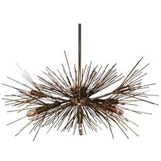 """A Hanging """"Twig"""" Chandelier by Jere' Great lighting perfect for you mid century modern home decor great brutalist design"""
