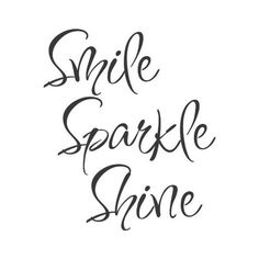 Sparkle Shine ❤ liked on Polyvore featuring text and words