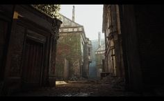 "ArtStation - Assassin's Creed Syndicate - Whitechapel East (Old Bromley Village), Bertrand ""Kali"" Bergougnoux"