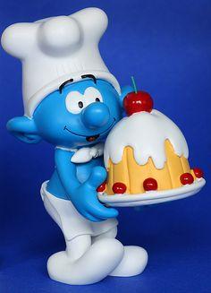 """""""Smurf Happy Birthday"""" by oli krüger,"""