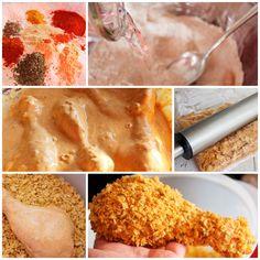 Receta casera del pollo frito al estilo Kentucky, más conocido como Pollo frito KFC. Descubre la receta paso a paso de pollo frito Kentucky, una receta fácil.