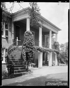 Gorgas House, Tuscaloosa, Tuscaloosa County, Alabama.  My grandparents lived in an exact reproduction of this house in Birmingham.