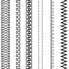 Free Fashion Design Brushes Zippers amp Stitching Vector - AI - Free Graphics download