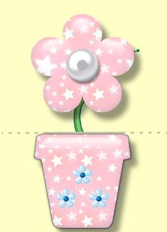 Cartoon Flowers, Plantation, Puzzle, Printables, Games, Spring, Inspiration, Mother's Day, Stickers
