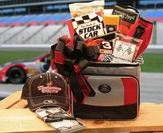 NASCAR Racing Gift -Gourmet Racing Gift Basket -Great Holiday Gift Idea for Men -Large > Tried it! Love it! Click the image. : Gift Baskets