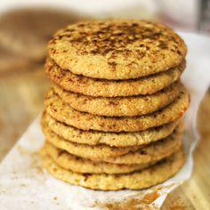 Snickerdoodle Cookies (Grain-Free, Egg-Free)