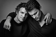 "Matt Bomer  Mark Ruffalo by Robert Maxwell for the Movie ""A Normal Heart"" on HBO  -"