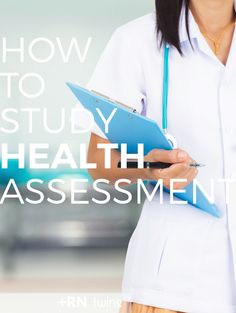 Are you wondering how to study for your health assessment course? Nursing Classes, College Nursing, Nursing School Tips, Nursing Career, Nursing Tips, Nursing Notes, Nursing Programs, Nursing Major, Lpn Programs