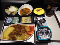 Turkish Airlines Inflight Meal (Istanbul-Bangkok) | Havayolu 101