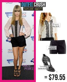 OUTFIT CRUSH: TAYLOR SWIFT