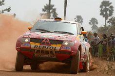 Mitsubishi Pajero Evolution at 2005 Dakar Rally