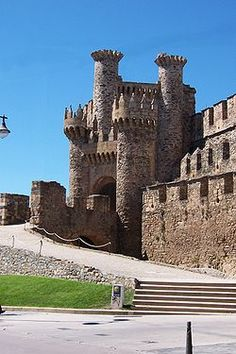 Ponferrada - A twelfth-century Templar Castle in Northwest Spain.  Someday, I will go here.