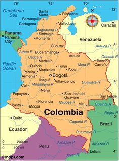 Colombia Atlas: Maps and Online Resources | Infoplease.com