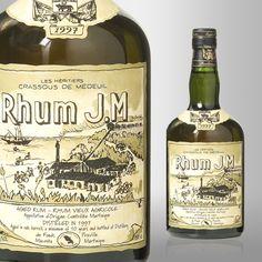 Rhum J.M Rhum Vieux Liquor Drinks, Wine And Liquor, Alcoholic Drinks, Rum Bottle, Whiskey Bottle, Whisky, Whiskey Lullaby, Aged Rum, Wine Pairings