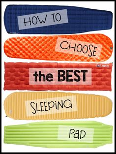 How to choose the best sleeping pad for #backpacking and the best lightweight options on the market