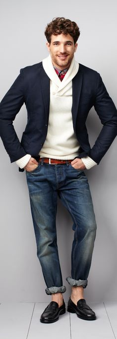 Tommy Hilfiger A/W '12 lookbook  The top half is cool, but I dont know about the bottom half. looks suspect to me.