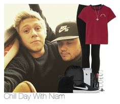 """Chill Day With Niam"" by lauren-beth-owens ❤ liked on Polyvore featuring Topshop, Marc Jacobs, Forever 21, Rains, Dolce&Gabbana, Chanel, Monki, Vivienne Westwood and NIKE"