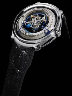 La Cote des Montres : La montre Vianney Halter Deep Space Tourbillon - Un instrument du temps pour les explorations dans l'espace lointain - Prix de l'Innovation au XIIIe Grand Prix d'Horlogerie de Genève