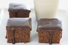 Κέϊκ+σοκολάτας+με+μέλι+και+σοκολατένιο+γλάσο+μελιού