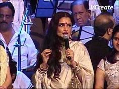 Rekha at Pyarelal live in concert.flv