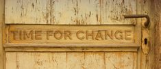 What to change your journey