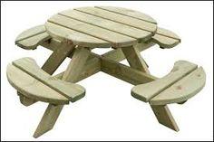 Afbeeldingsresultaat voor kinder picknicktafel maken