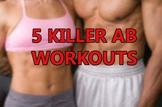NEW POST! GET ROCK-HARD ABS THE PALEO WAY! http://eatlikecavemen.com/paleo-fitness/5-killer-ab-workouts #PaleoDiet