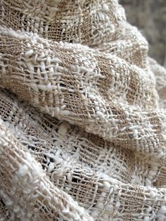 Lotus and Raw Silk Shawl by nomliving.com on Flickr.
