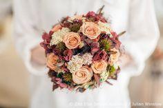 Zita Elze Design Academy Kwak Eun Seo painterly bridal bouquet Wedding Master Class photo: Julian Winslow