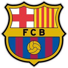 FC Barcelona Barca Spain Football Soccer Car Bumper Sticker Decal 4.5X4.5