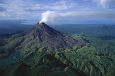 Bagana volcano.  Photo by George Steinmetz.