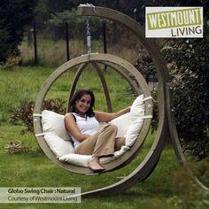 NEW LUXURY GLOBO SPUCE HAMMOCK HANG SWING CHAIR GARDEN SEAT + STAND SINGLE