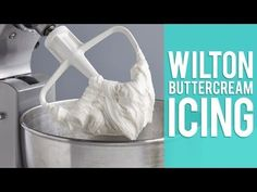 How to make Wilton Buttercream Icing - YouTube