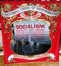 Notts NUM banner