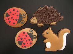 Chocolate and vanilla critter cookies by Natasha Tasic